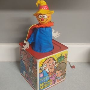 1967 Scarecrow in a Box